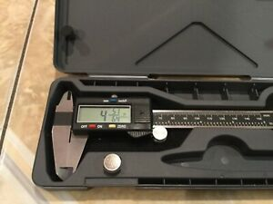 Neiko Electronic Digital Caliper With Extra Large Lcd Screen 0 6 0 150mm