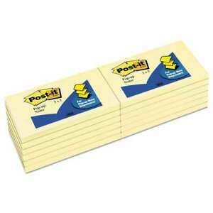 Post it Pop up Notes Original Canary Yellow Pop up Refill 3 X 5 021200692086