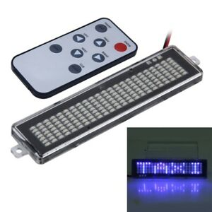12v Car Led Programmable Showcase Message Sign Scrolling Display Lighting Board