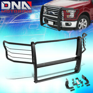 For 2015 2019 Ford F150 Truck Front Bumper Brush Grille Guard Push Bar Protector