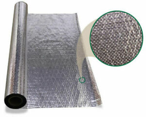 Radiant Barrier Entry Level Breathable 1000 Sf Roll Attic Foil Insulation