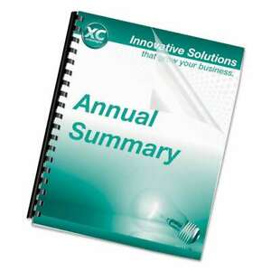 Fellowes Crystals Presentation Covers With Square Corners 11 X 043859710393