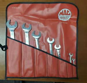Mac Tools 7pc Sae Open End Wrench Set Sdr7k