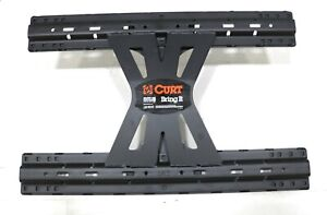 New Curt X5 Double Lock Gooseneck To 5th Wheel Rails Adapter Plate 20000lb 16210