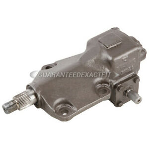 Remanufactured Manual Steering Gear Box For Ford F 250 F 350 4wd 1967 1977