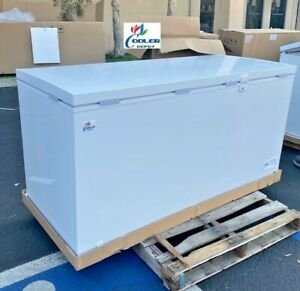 New 65 Solid Top Lock Chest Freezer Storage Cabinet Nsf Etl Commercial Xf 562