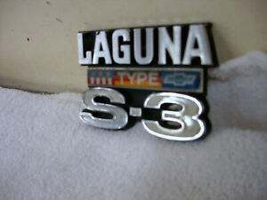 1974 Chevy Chevelle Laguna Type S3 Grille Emblem Mounting Plate 545362