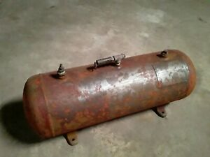 Vintage Industrial Grade Air Tank great For Mounting On A Truck Or Trailer