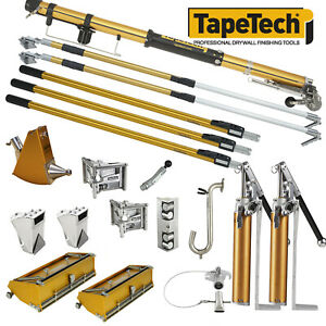 Tapetech Pro Performance Drywall Taping Tool Set Corners Spotters 2 Pumps