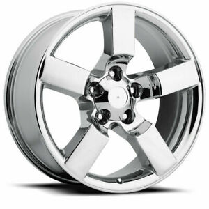 Chrome 20 Fits Ford F 150 Lightning Wheels Rims Expedition Set Of 4 20x9