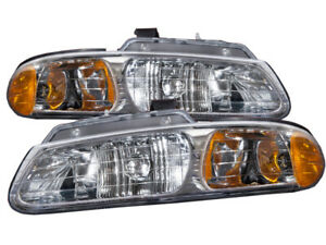 Fits 2000 Dodge Caravan chrysler Town country plymouth Voyager Headlights Pair