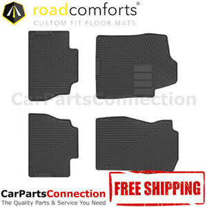 Road Comforts All Weather Floor Mat 204110 4pc For Silverado 2009 2500hd Ext Cab