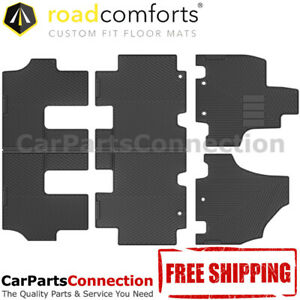 Road Comforts All Weather Floor Mat Liner 208871 3row Set For Honda Odyssey 2011