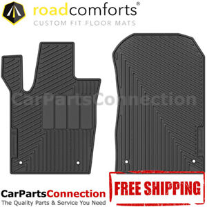 Road Comforts All Weather Floor Mat 210098 Front For Jeep Grand Cherokee 2014