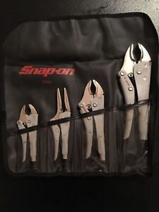 Snap On Locking Pliers Set Lp404 With Case