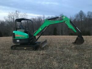 2013 Bobcat E32 Mini Excavator Rubber Tracks Trackhoe