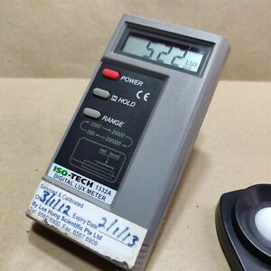 Iso tech Digital Lux Light Meter 1332a Made In Taiwan