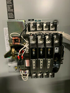 Asco 7000 Series 200 Amp 480v 3 Phase Automatic Transfer Switch