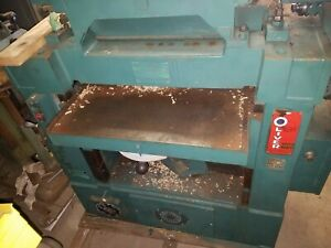 Oliver 299 d 24 Planer Carbide Spiral Itch Head Complete With Grinder Will Ship
