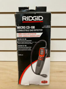 new Ridgid 36163 Micro Cd 100 Combustible Gas Leak Detector