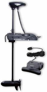 Watersnake Shadow Bow Mount 44 Lb Thrust 48 Shaft Trolling Motor 12v Foot Contr