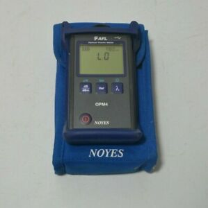 Afl Noyes Opm4 Opm4 4d Fiber Optic Power Meter Opm 4