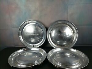 Vintage Set Of 4 1951 Buick 15 Inch Hubcaps