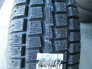4 New P 265 70r17 Cooper Discoverer M S Tires 70 17 R17 2657017 70r Winter Snow