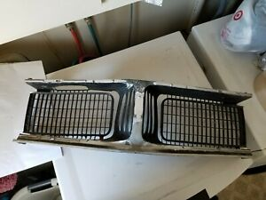 1969 Dodge Charger Center Grille Section