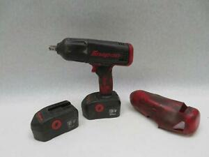 Snap on Ct4850ho 1 2 Impact Wrench 2 18v Batteries