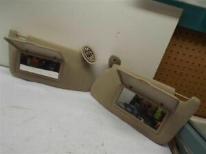 Driver Left Sun Visor Without Mirror Fits 00 05 Grand Am 191397