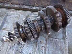 Ford Tractor 861 5 Speed Transmission Bottom Shaft Gears