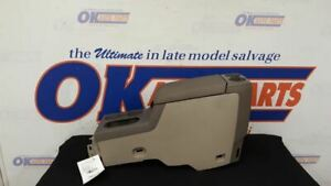 06 Ford Explorer Front Floor Center Console Tan And Brown