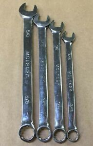 Matco 4pc 12pt Standard Combination Wrench Set Non Slip