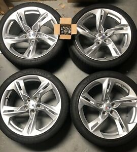 2019 Chevy Camaro Ss 20 Staggered Wheel Rims Tires Set Of 4 Oem nice F