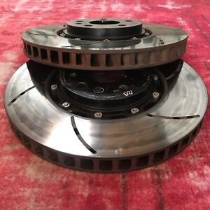 Racing Brake Rb 2 piece Floating Front Rotors Vw Mk7 Golf R Gti Pp Audi A3 S3