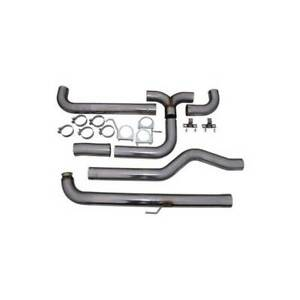 Mbrp Dual Xp 4 Dowpipe back Stack Exhaust For Gm Duramax 6 6l Lb7 lly lbz 01 07