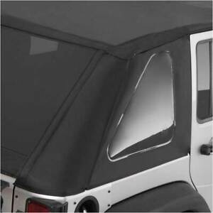 Smittybilt Bowless Combo Top Black For Jeep Wrangler Jk 1997 2006