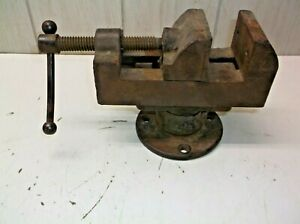 Antique Yankee Vise 1998 For Drill Press Or Metal Lathe Industrial Shop