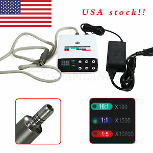 Usa Dental Brushless Led Micromotor Electric Micro Motor E type High Low Speed