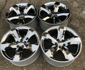 2011 2014 Dodge Challenger charger 20 Chrome Clad Wheel Rims Set Of 4 Oem F
