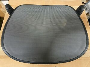 Used Herman Miller Mirra Chair Replacement Seat 3q11 Mesh Graphite Frame
