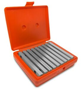 Wen 10349 18 piece Precision ground 1 4 inch Parallel Sets With Case
