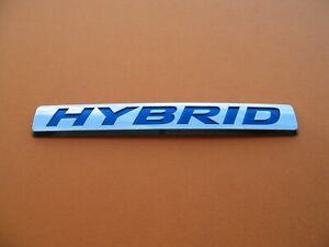 Honda Crz Civic Accord Insight Hybrid Side Emblem Logo Badge Sign Symbol A2978