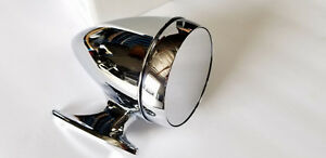 Shelby Mustang Rotunda Style Racing Bullet Mirror Driver Side Usa Made