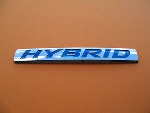 Honda Crz Civic Accord Insight Hybrid Side Emblem Logo Badge Sign Symbol A3013