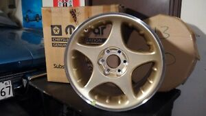 Dodge Viper Gen Ii New Old Stock Gold Sparkle Front Wheel Mc25pym