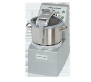 Robot Coupe R15 15 Liter Stainless Steel Vertical Bench Style Cutter mixer