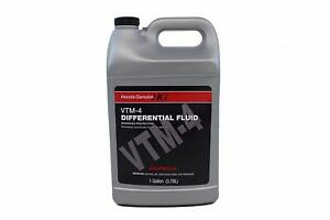 Genuine Oem Rear Differential Fluid Vtm 4 1 Gallon For Acura Honda
