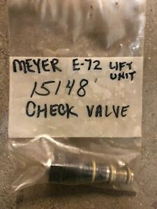 Meyer Snow Plows Check Valve E72 Home Plow My15148